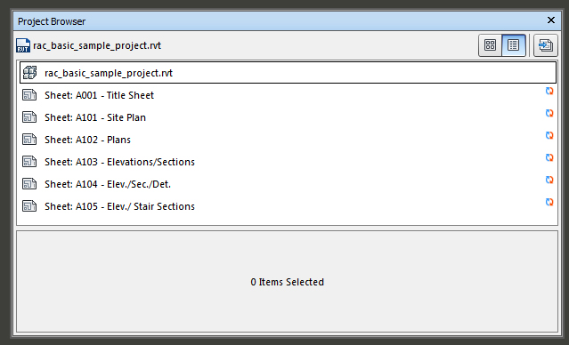 projectBrowser
