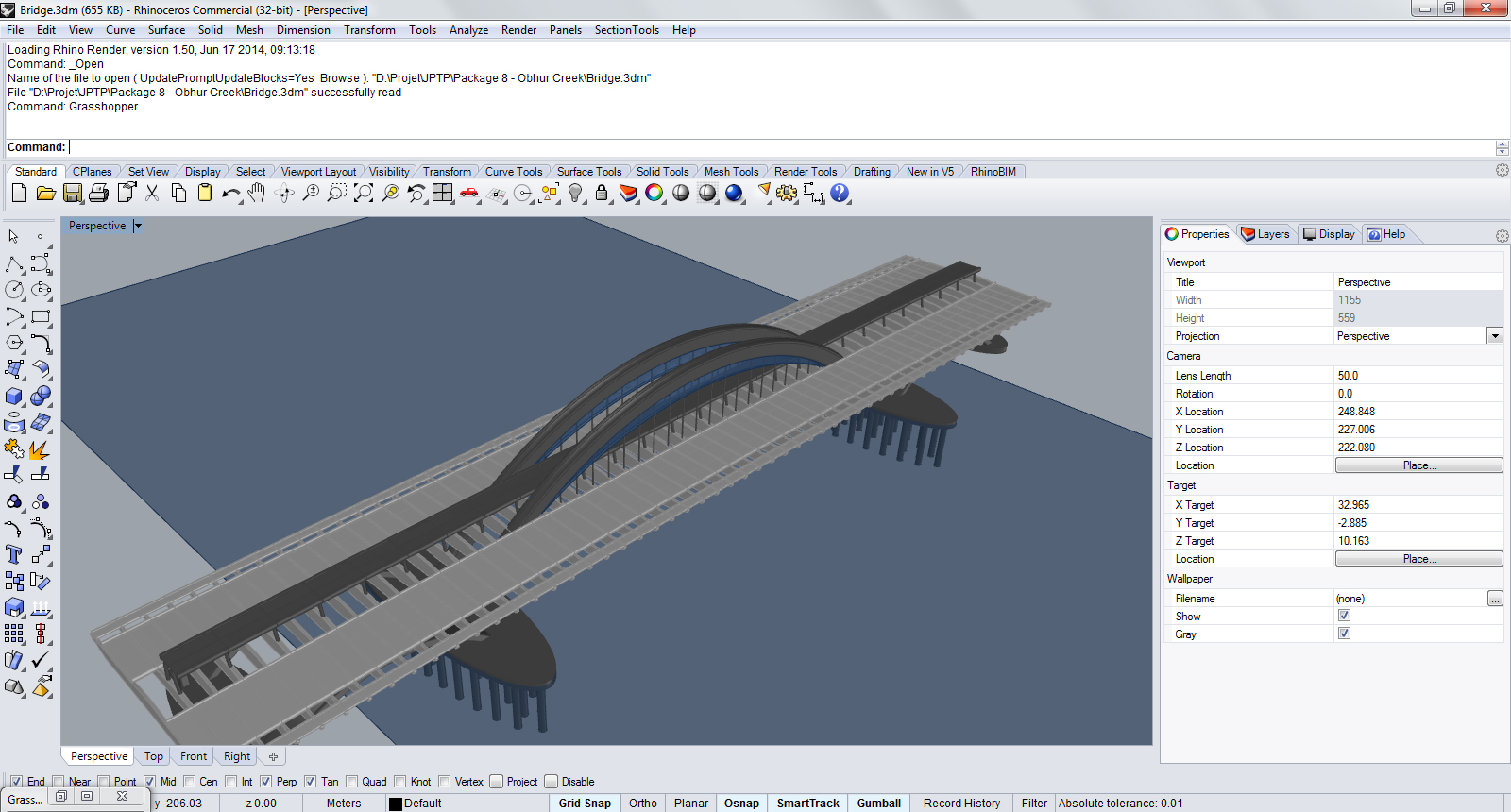 Parametric Bridge
