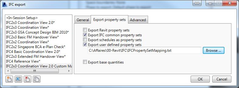 IFCExportProperties