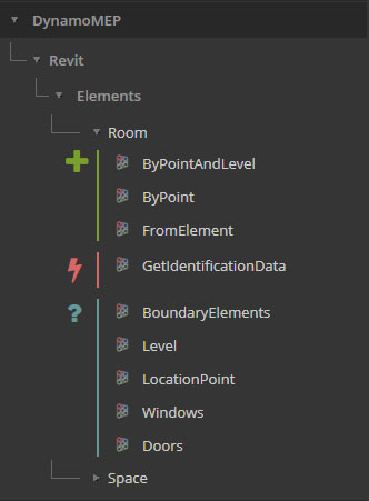 Creating Spaces from Rooms - Revit - Dynamo