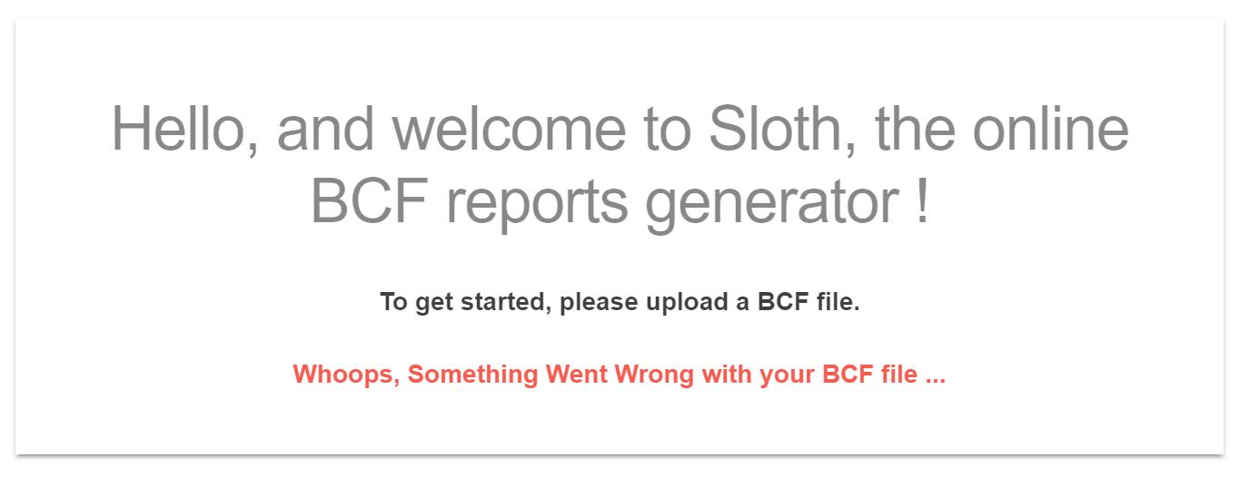 BCF-Error
