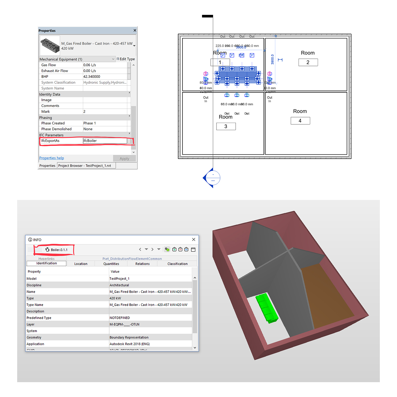 IFC from Revit - Part 2