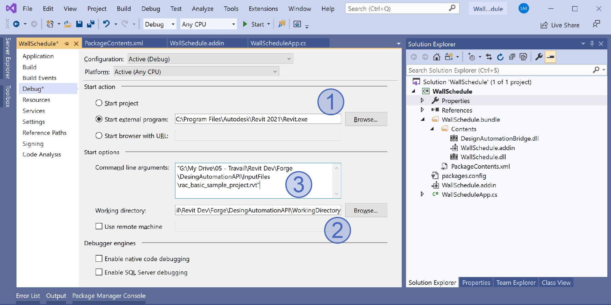 Visual Studio Configuration